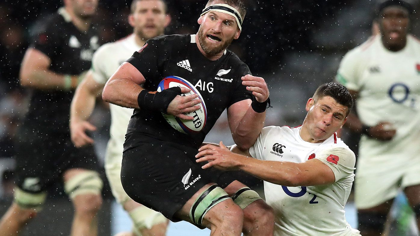 Owen Franks has been axed from the New Zealand squad for the World Cup.