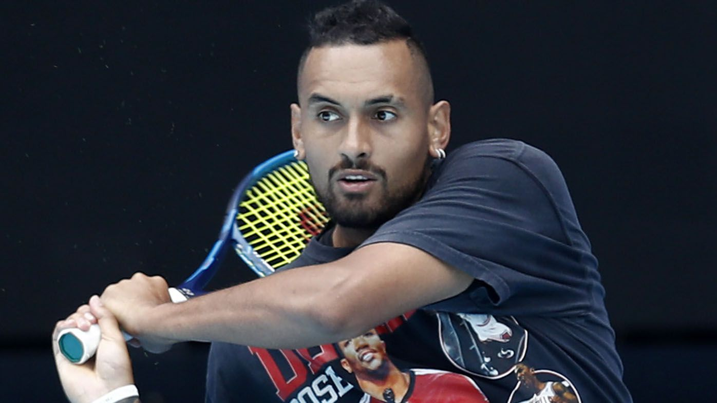'Not going to lie': Nick Kyrgios didn't miss tennis during COVID-19 affected season