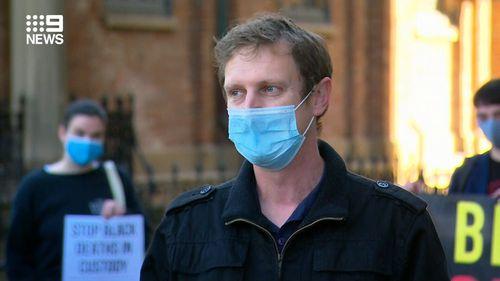 NSW Police have taken organiser Padraic Gibson to court.