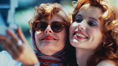 The original selfie, courtesy of Susan Sarandon and Geena Davis in Thelma and Louise.