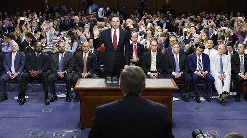 James Comey. (AAP)