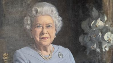 New portrait of Queen Elizabeth II commissioned by the RAF