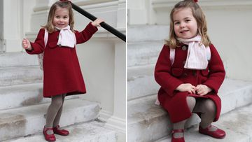 Gorgeous pictures of Princess Charlotte on first school day