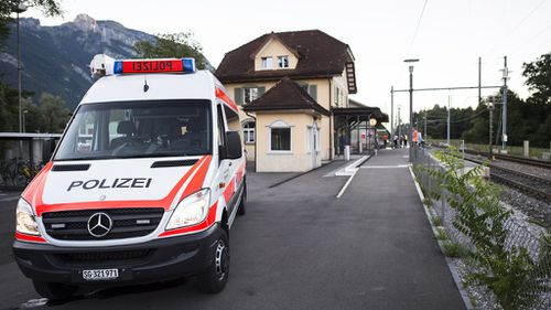 Swiss train attacker dies from his injuries