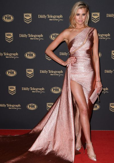 Tegan Martin at the 2019 Dally M Medal