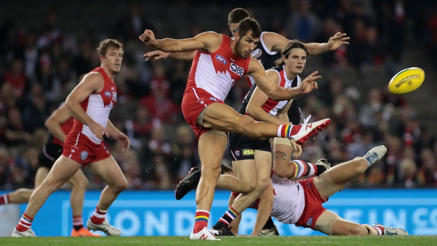 Slick Swans smash sloppy Saints in AFL