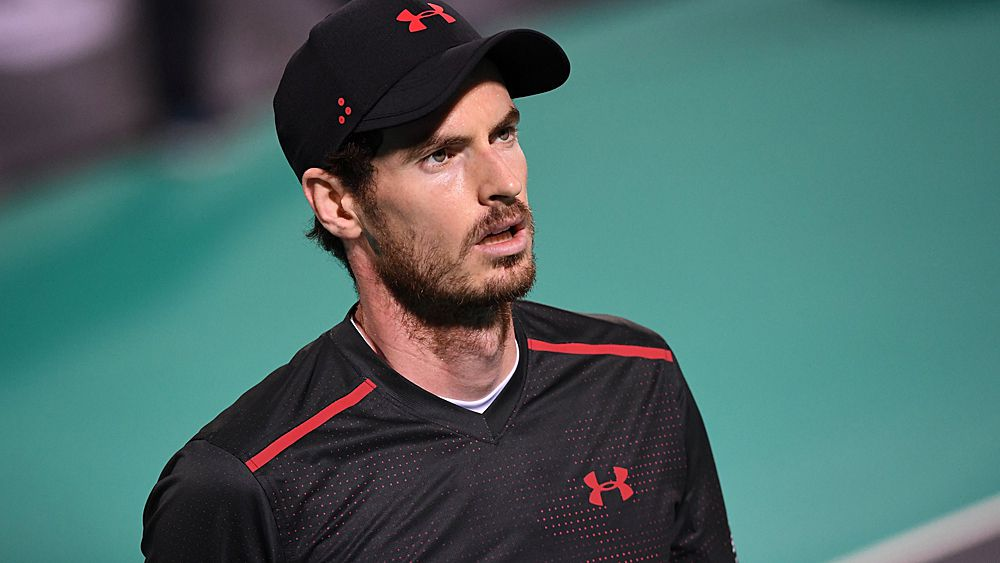 Tennis: Andy Murray limps to defeat in comeback match in Abu Dhabi