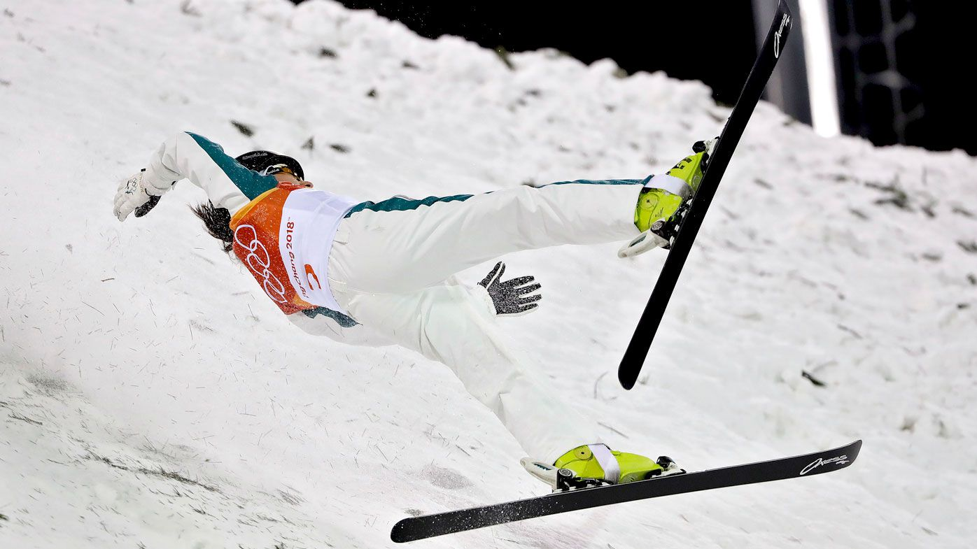 Australian Peel fifth in Olympic aerials