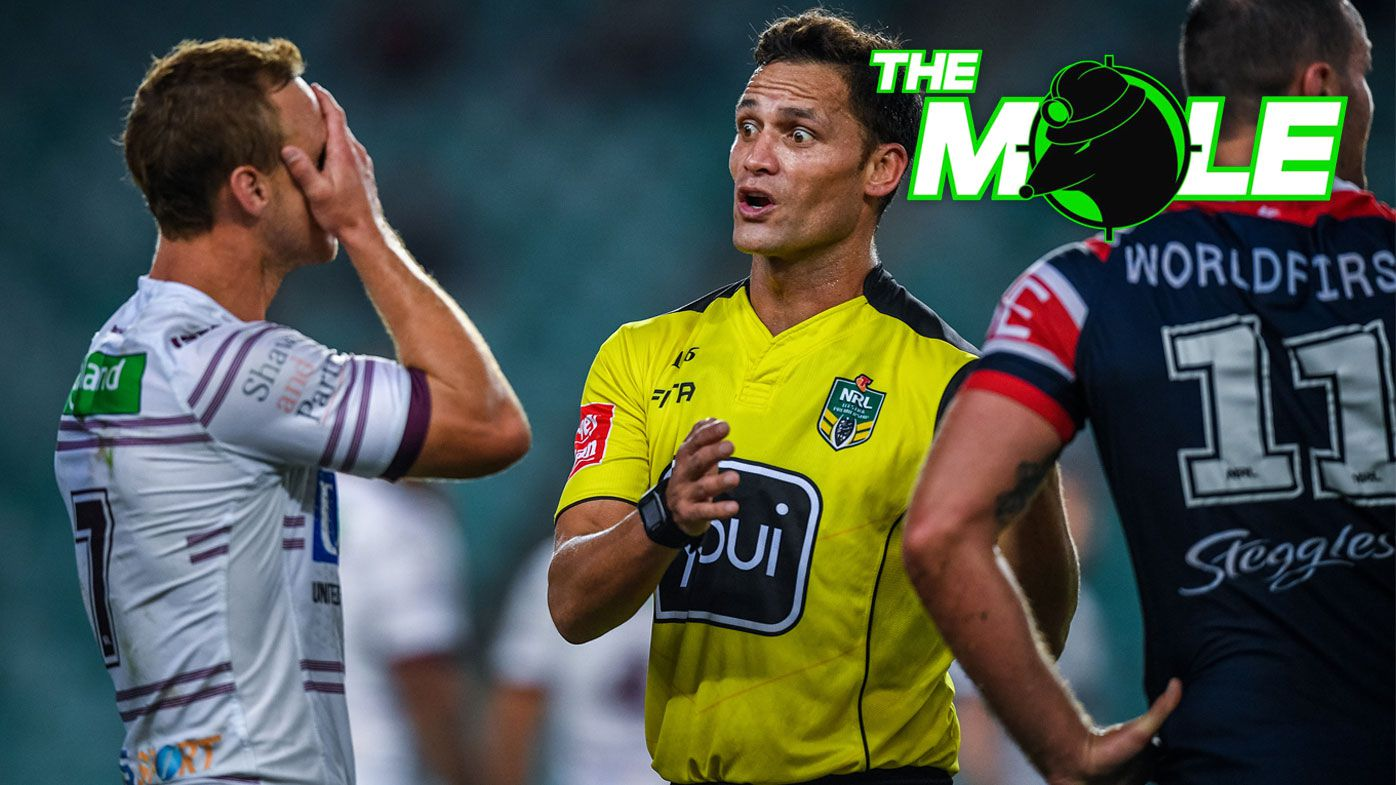NRL to continue penalty blitz in State of Origin, reports The Mole