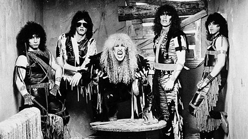 Twisted Sister in their early '80s heyday.