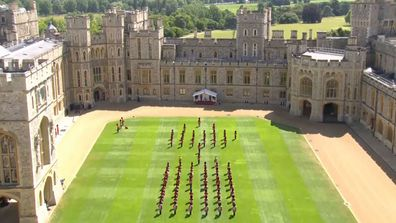 Trooping the Colour 2020 Windsor Castle