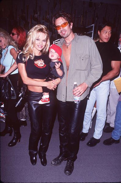 Brandon Lee, Tommy Lee, Pamela Anderson
