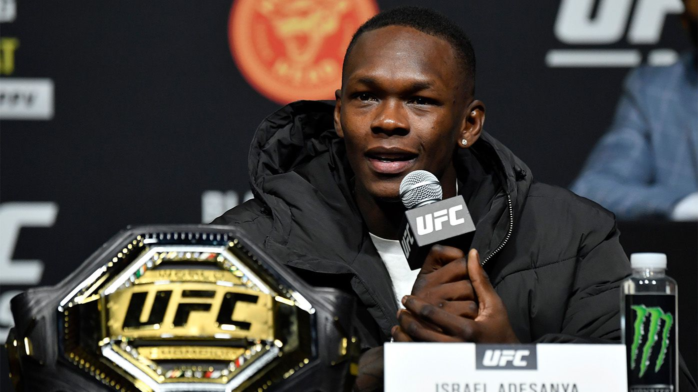 UFC star Israel Adesanya axed from BMW ambassadorship role for 'rape' comment