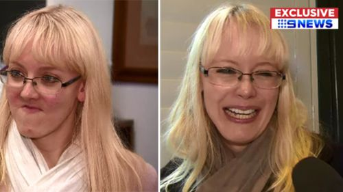 Ms Myburgh's stunning makeover was made possible by innovative technology.