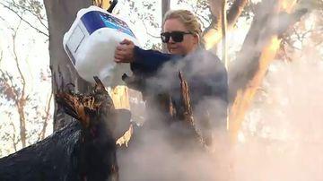 Crews battle 79 winter bushfires across NSW