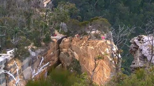 Young man dies after swinging from Hanging Rock