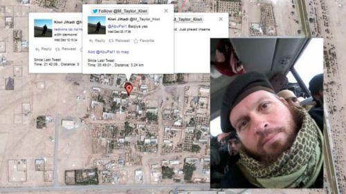 Social media loving Kiwi Jihadi mistakenly broadcasts his location online