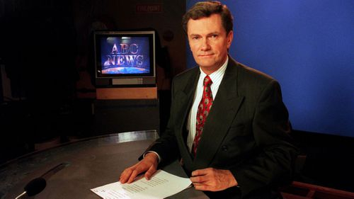 Mike Bailey, pictured in the ABC studios.