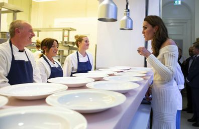 Duchess of Cambridge attends gala dinner for Action on Addiction