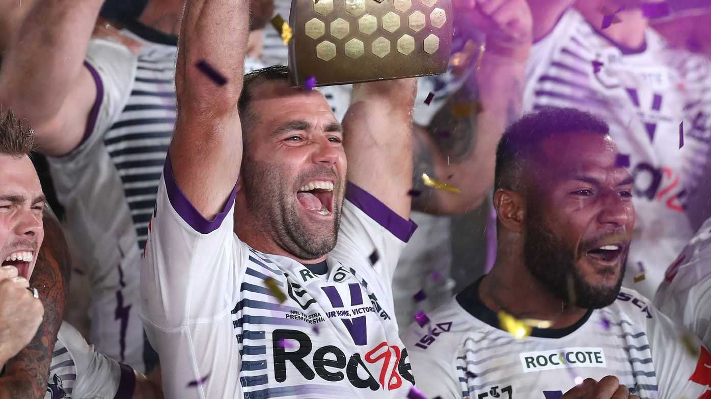 Cameron Smith had needles for shoulder injury during final two months of NRL season
