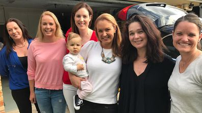Golden girls: A group of local mums is helping mums in need. Image: Facebook/BabyGiveBack