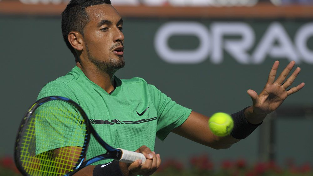 Sick Nick Kyrgios unable to play Roger Federer in Indian Wells quarter-finals
