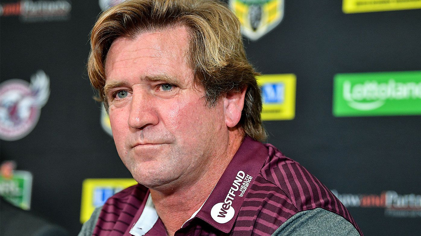 Manly Sea Eagles feeling the brunt of Des Hasler's defensive prowess