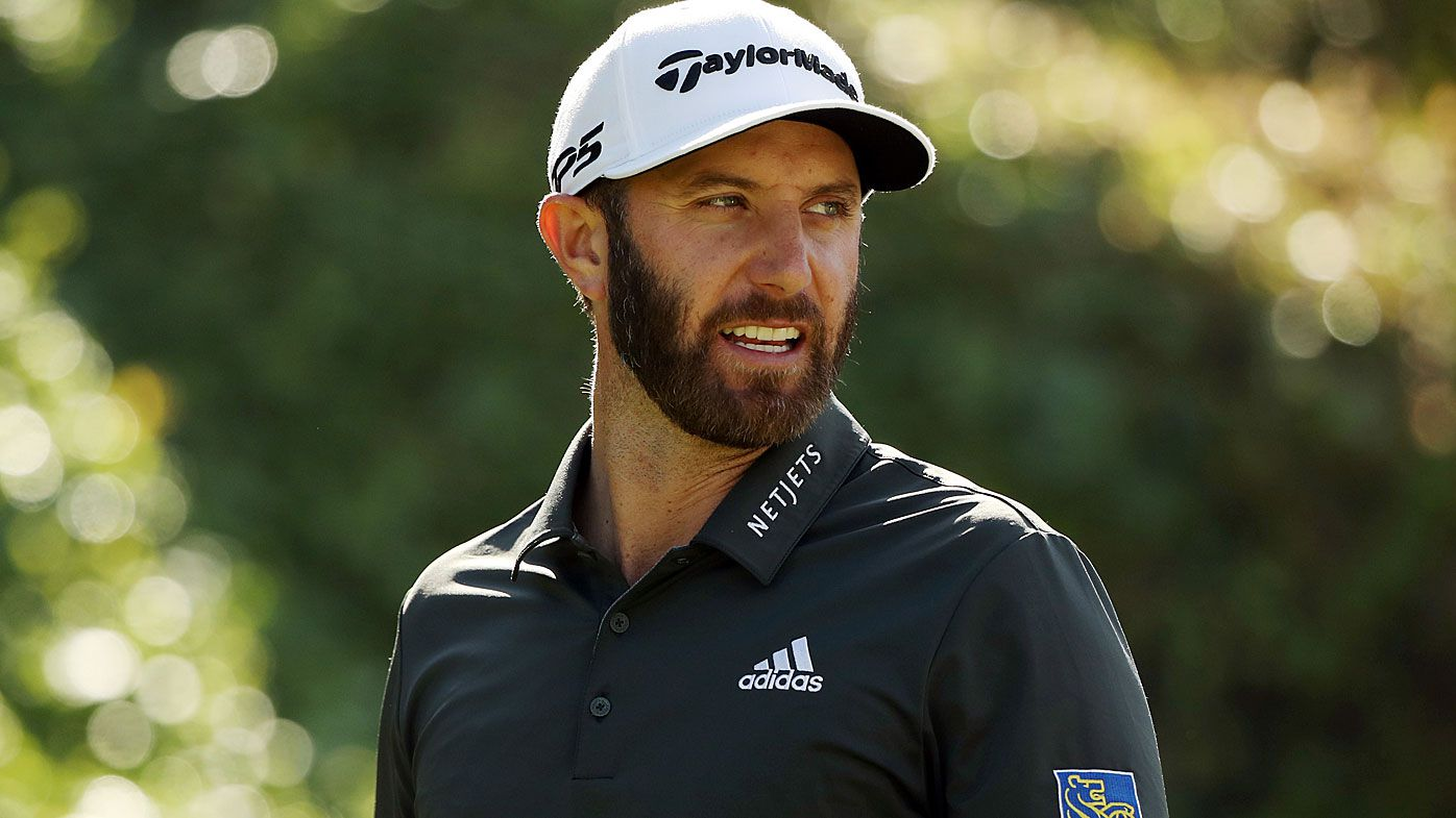 Dustin Johnson of the United States