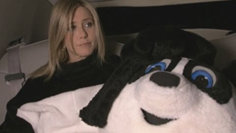 Watch: Jennifer Aniston in a bear suit for <i>Bachelor</i> spoof show