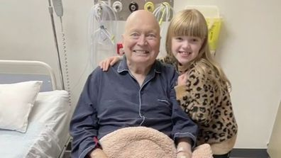 Bert Newton's family unable to visit him in hospital during Melbourne lockdown
