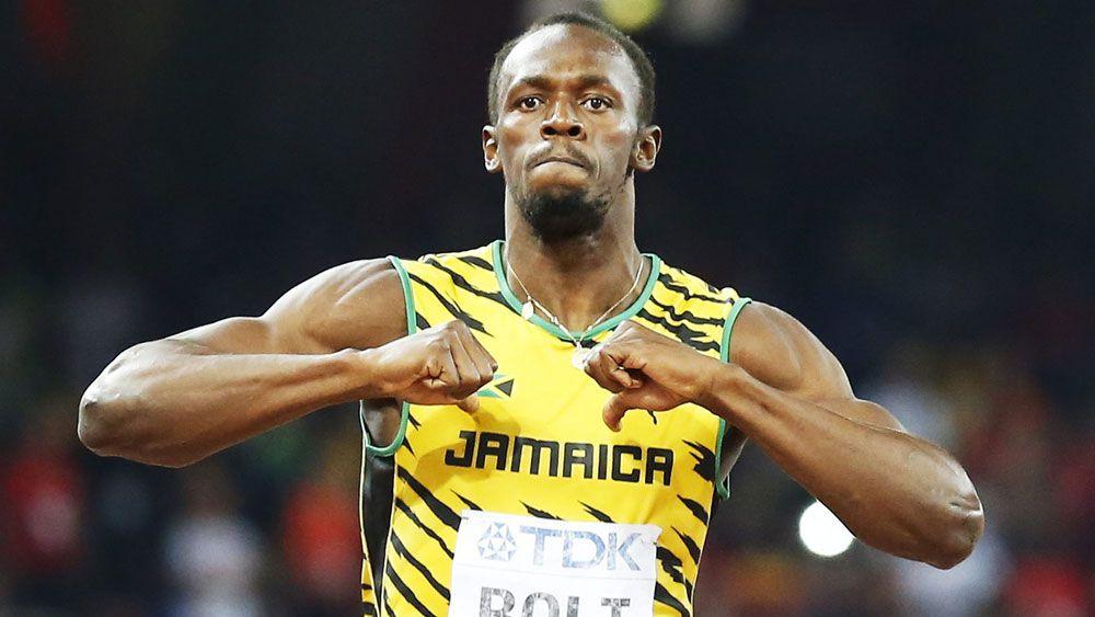 Usain Bolt. (AAP)