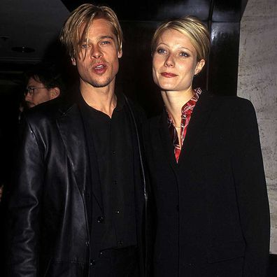 Brad Pitt and Gwenyth Paltrow in 1997.