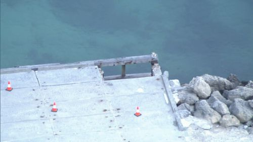 "A 2014 report found the jetties on the island had ""maintenance issues"" which needed to be addressed."