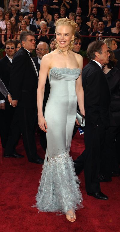 Nicole Kidman in Chanel at the 2004 Oscars