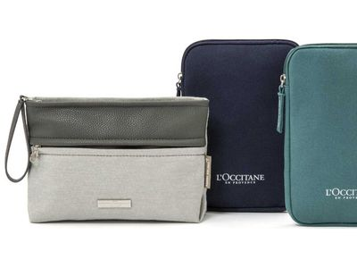 First Class Amenity Kit, Asia - SPIRIANT for Asiana Airlines
