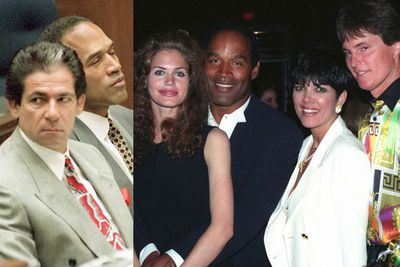 Convicted killer OJ Simpson was a big part of Kim's life growing up. Her dad was on his defence team and he was known to the family as 'Uncle OJ'.