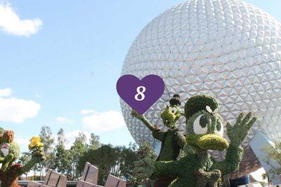 <strong>8. Walt Disney's Epcot Park, Florida</strong>