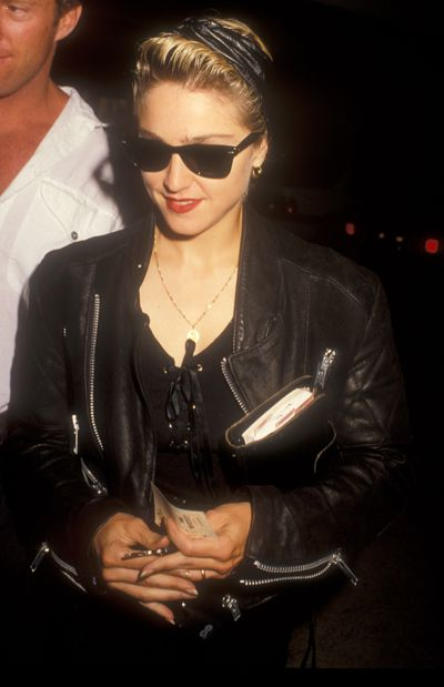Madonna in Los Angeles on October 29, 1987