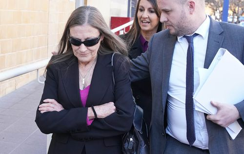 Magistrate Robyn Denes said the horrendous conduct needed to be denounced. She dismissed Gray's application and ordered her to return for sentencing in August. (AAP)