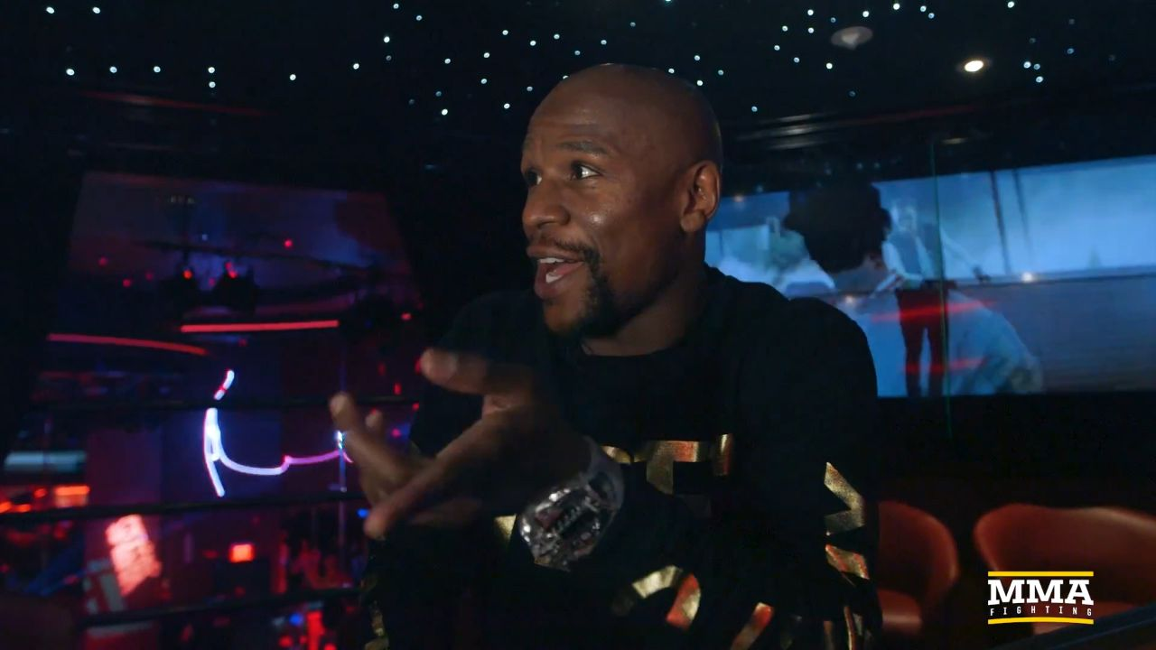 9RAW: Mayweather defends late night strip club visits