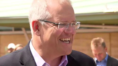 Scott Morrison is in Victoria for the funding announcement this morning.