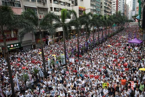 Hong Kong on edge as pressure grows to delay fugitive bill