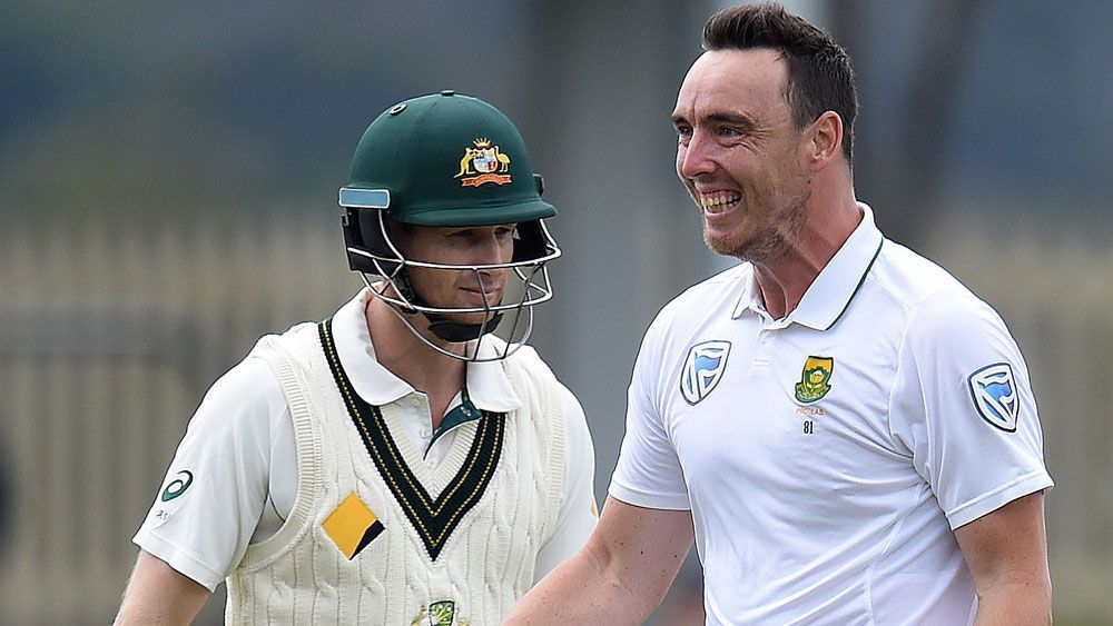 Adam Voges has been urged to relax while at the crease. (AAP)
