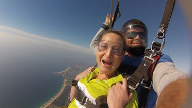 Eleni cancer Chris O'Brien Lifehouse skydive