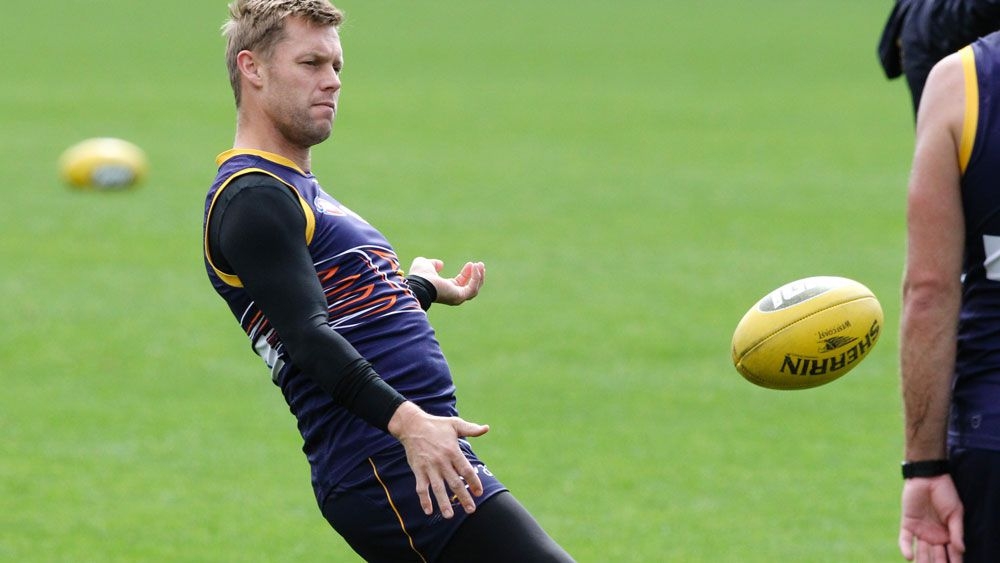 Sam Mitchell has denied spitting allegations. (AAP)