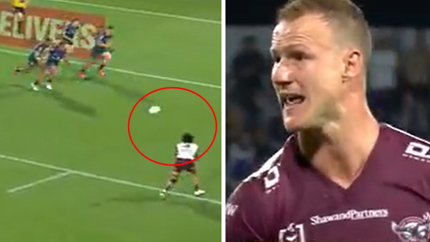 A forward pass call angers Daly Cherry-Evans