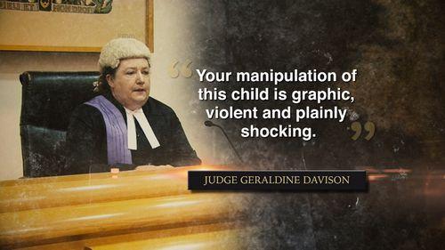 The judge said Philips' manipulation was graphic, violent and shocking.