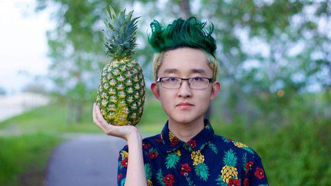 'Pineapple head'  Image: Hansel34/Imgur
