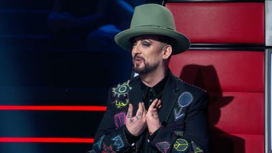 Boy George vows to take Angela Fabian all the way