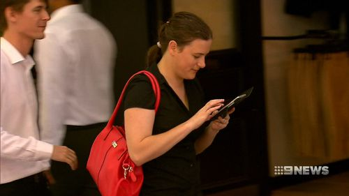 Forty percent of students in the study felt lost without a phone. (9NEWS)